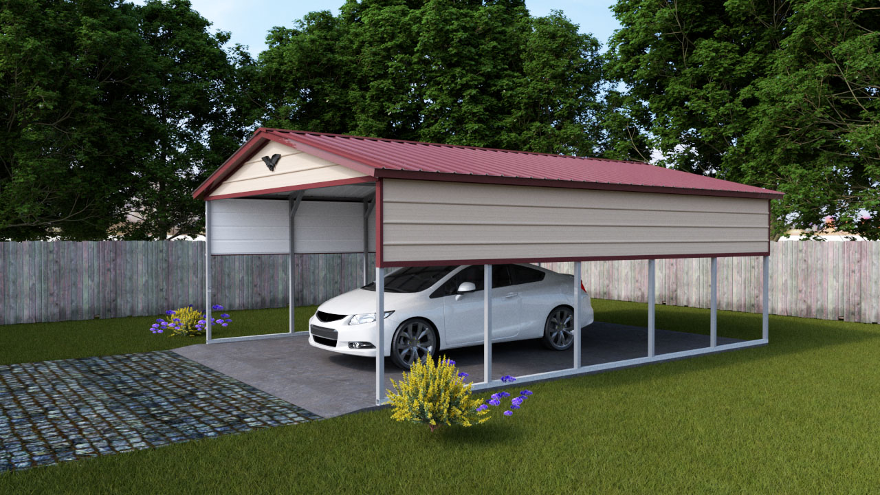vertical carports