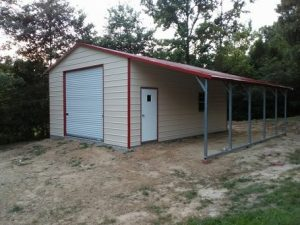 Carport Us - Garage-A-Frame